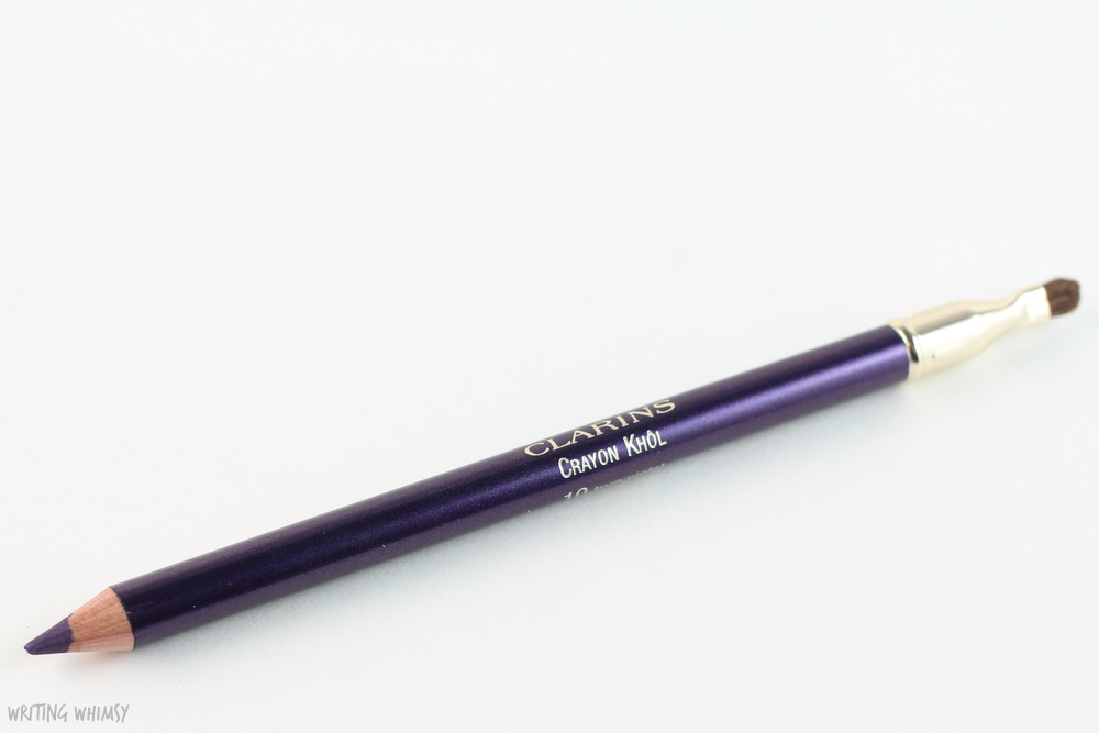 Clarins Crayon Kohl in True Violet Swatch 3