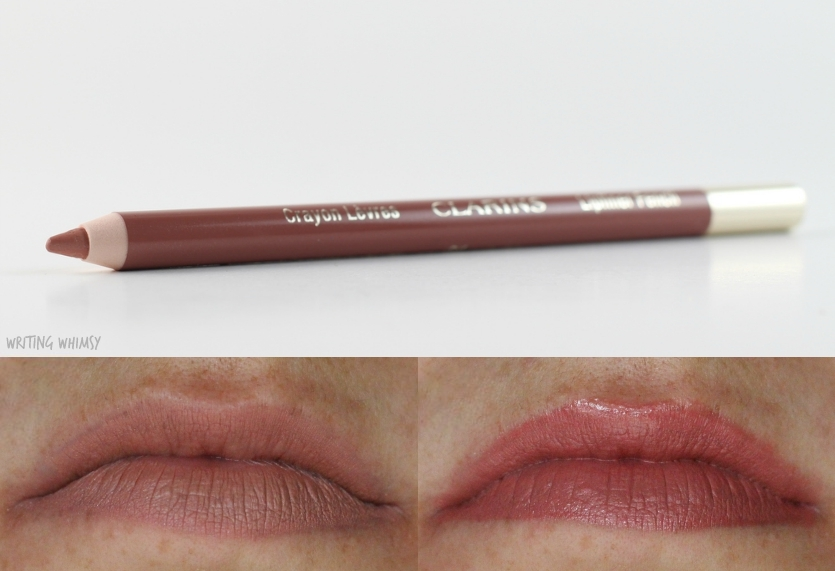 Clarins Lipliner Pencil in Nude Fair Swatch 2