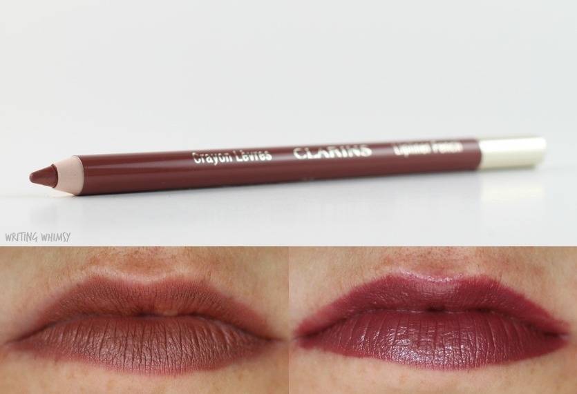Clarins Lipliner Pencil in Nude Rose Swatch 2