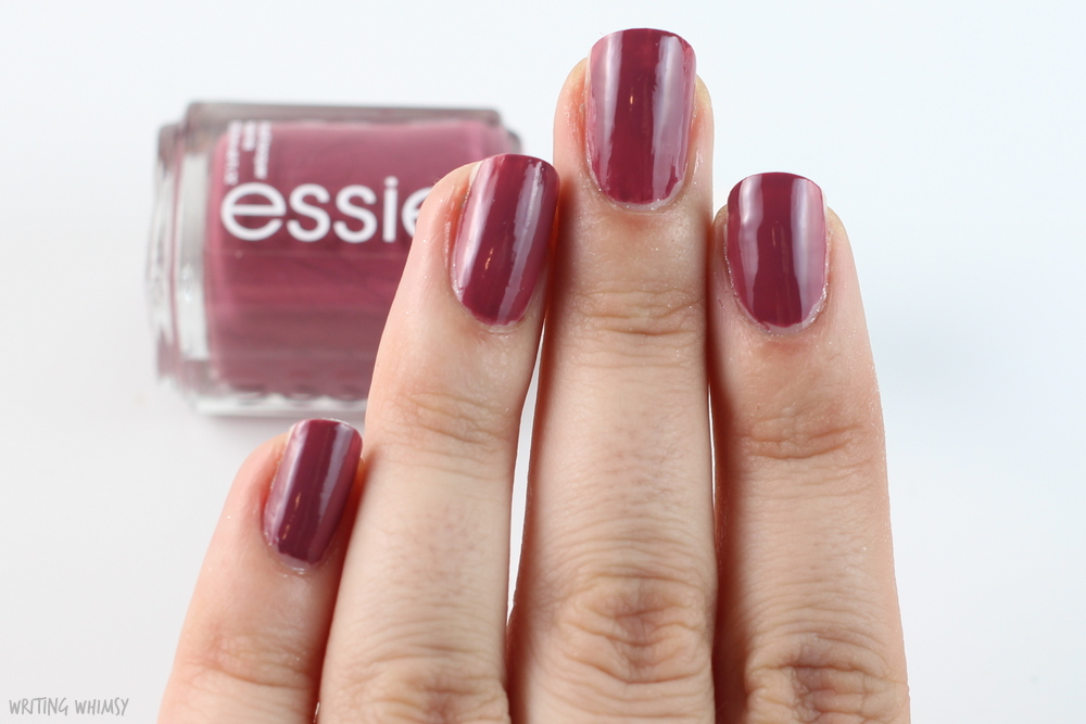 Essie Angora Cardi Swatches + Review 3