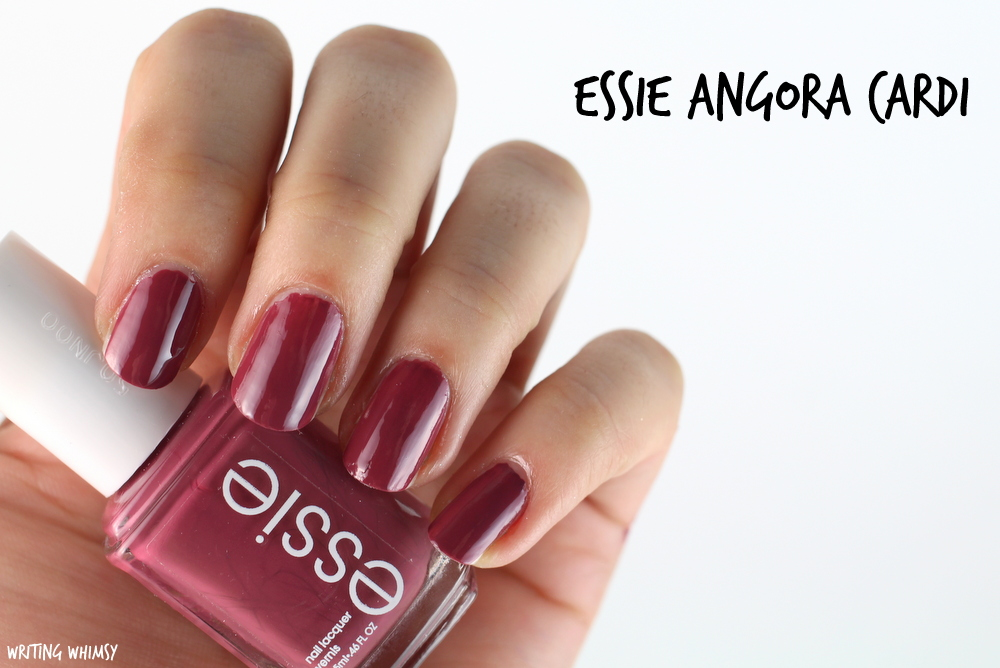 Essie Angora Cardi Swatches + Review