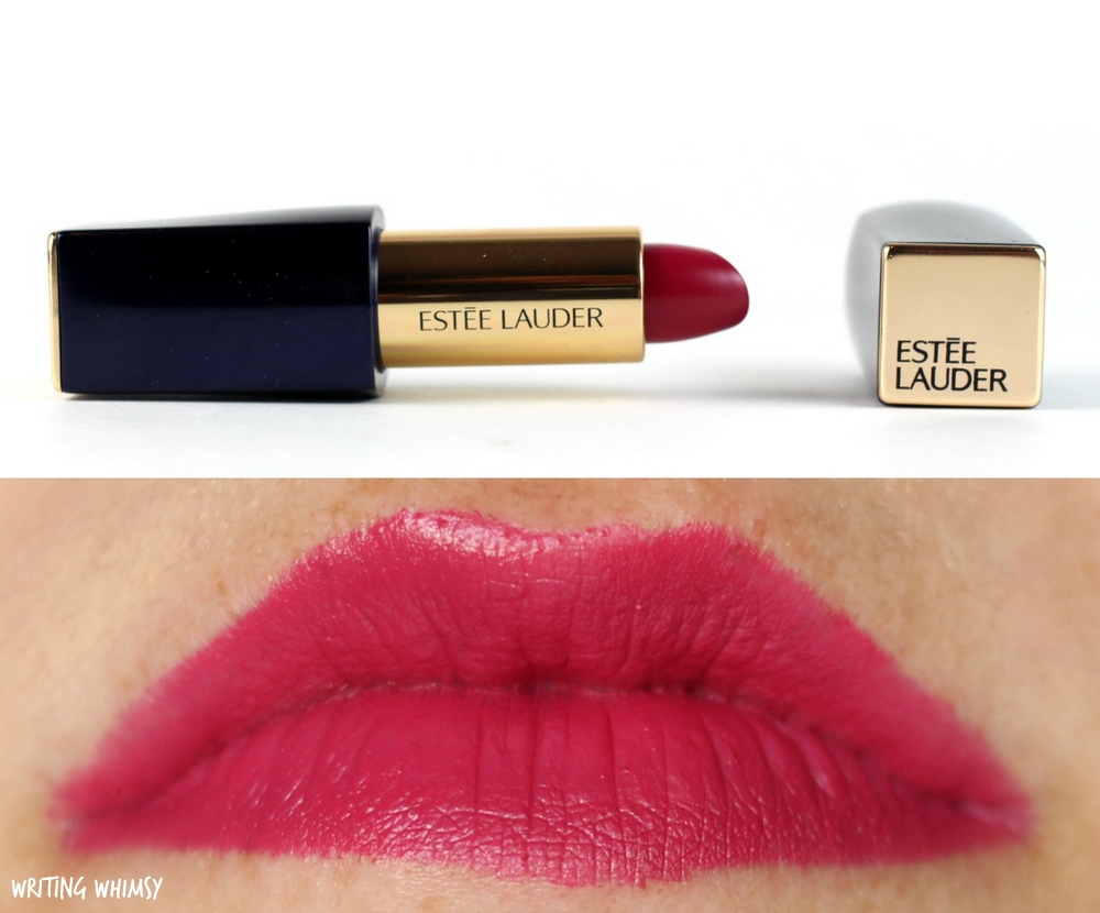 Estee Lauder Pure Color Matte Sculpting Lipstick in Unattainable Swatches 2
