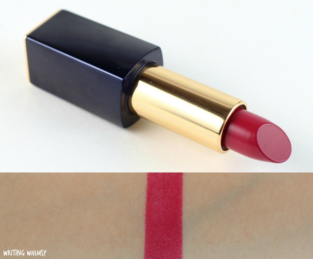 Estee Lauder Pure Color Matte Sculpting Lipstick in Unattainable Swatches