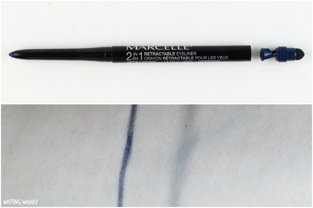 Marcelle 2-in-1 Retractable Eyeliner Midnight Blue Swatch