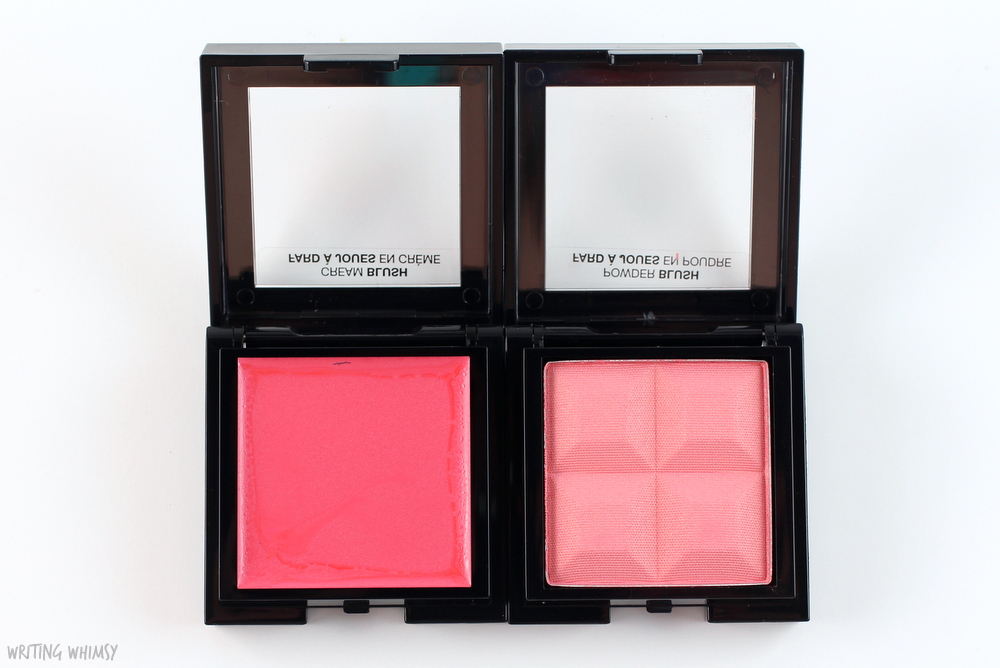 Marcelle Monochromatic Blush in Coral Swatches 3