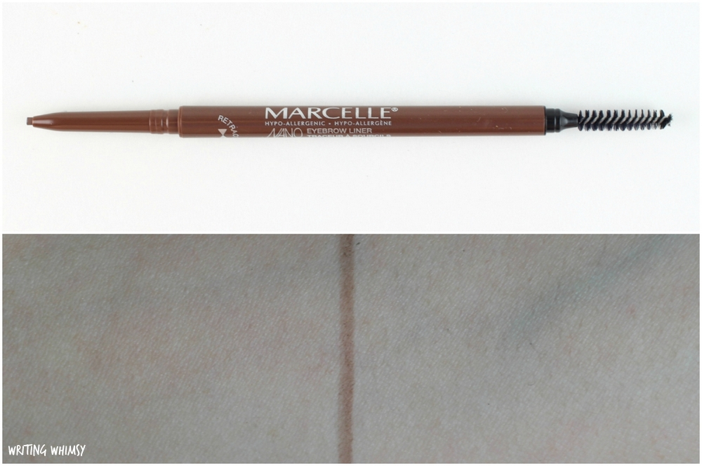 Marcelle Nano Eyebrow Liner Medium Brown Swatch