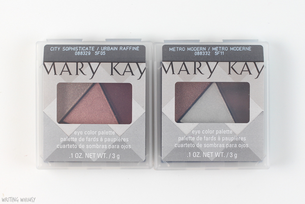 Mary Kay Fall 2015 City Modern Eye Color Palettes Swatches 3