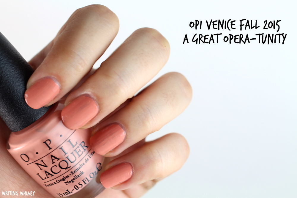 OPI A Great Opera-Tunity Swatches