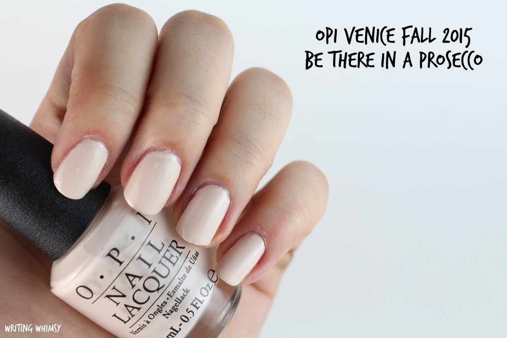 OPI Be There in a Prosecco Swatches