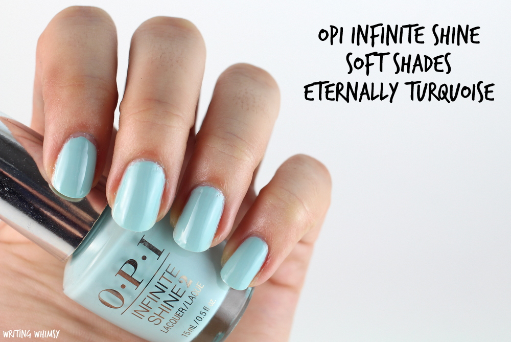 OPI Infinite Shine Eternally Turquoise Swatches
