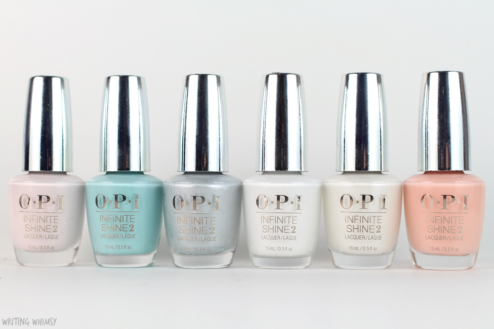 OPI Infinite Shine Soft Shades Collection Swatches