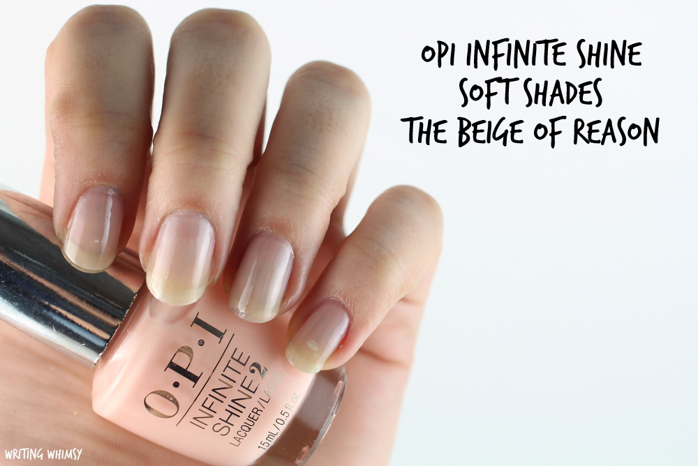 OPI Infinite Shine The Beige of Reason Swatches