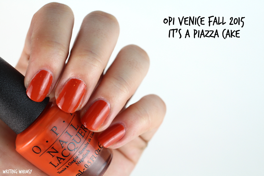 OPI It's a Piazza Cake Swatches