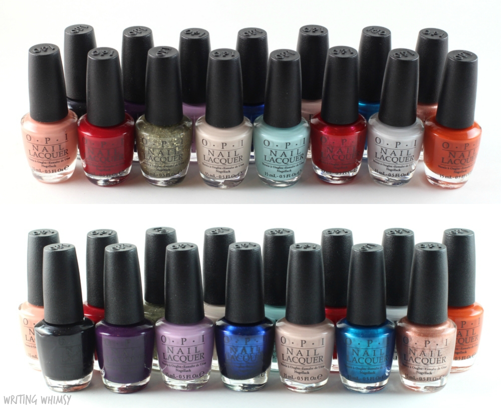 OPI Venice Fall 2015 Collection Swatches + Review 2