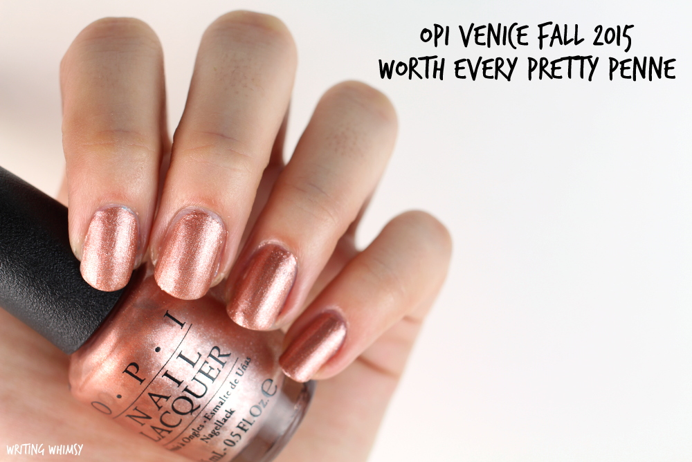 OPI Worth Every Pretty Penne Swatches