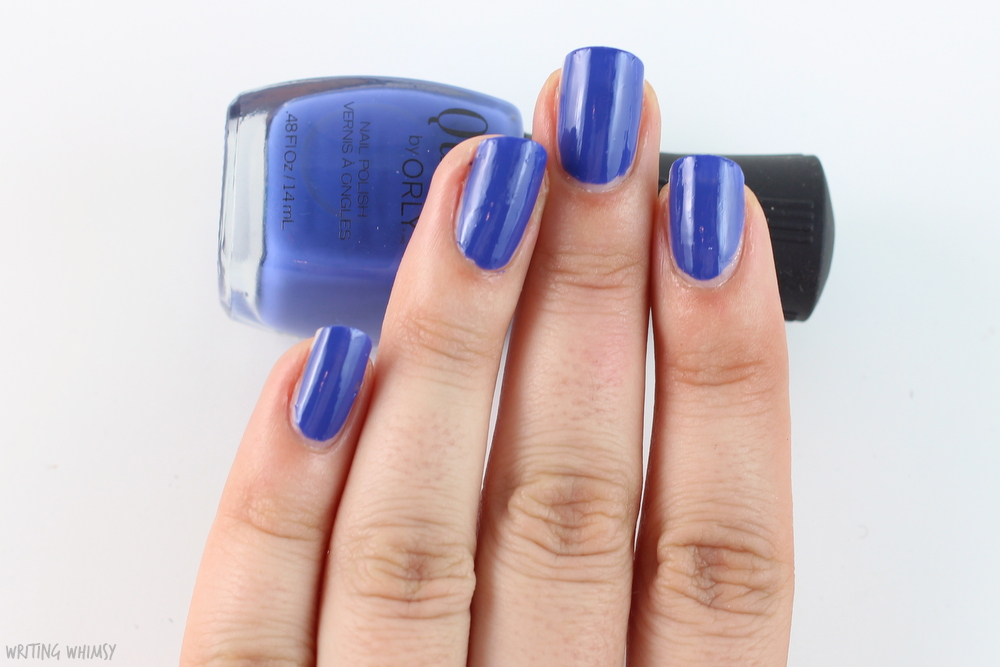 Quo by Orly Blue Beat Swatches 2