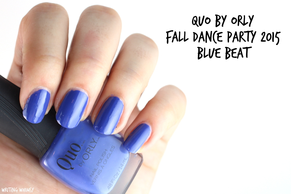 Quo by Orly Blue Beat Swatches