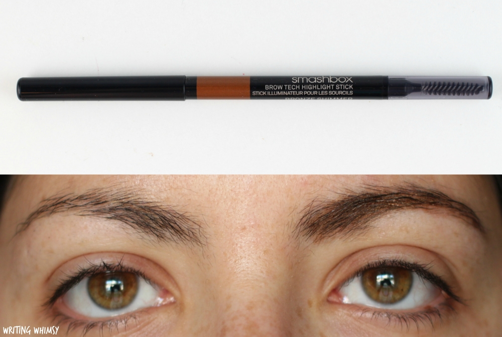 Smashbox Brow Tech Highlight Stick in Bronze Shimmer Swatches 2