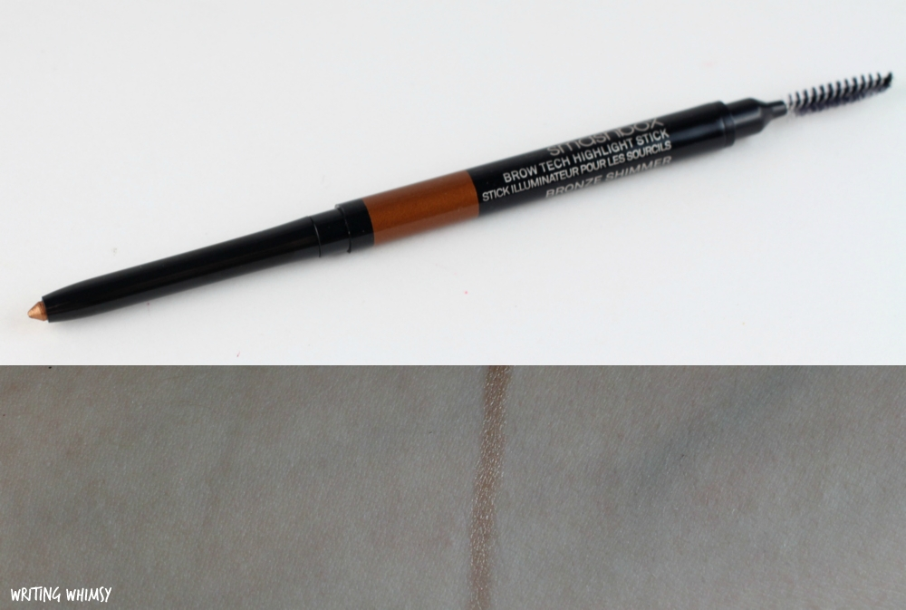 Smashbox Brow Tech Highlight Stick in Bronze Shimmer Swatches