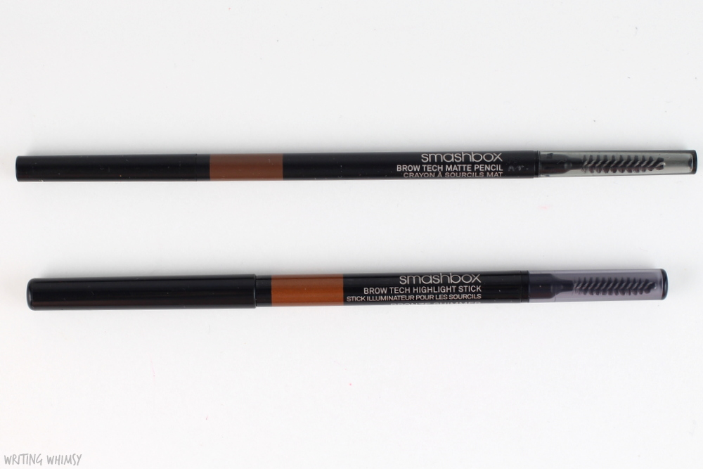 Smashbox Brow Tech Matte Pencil & Highlight Stick Swatches 2