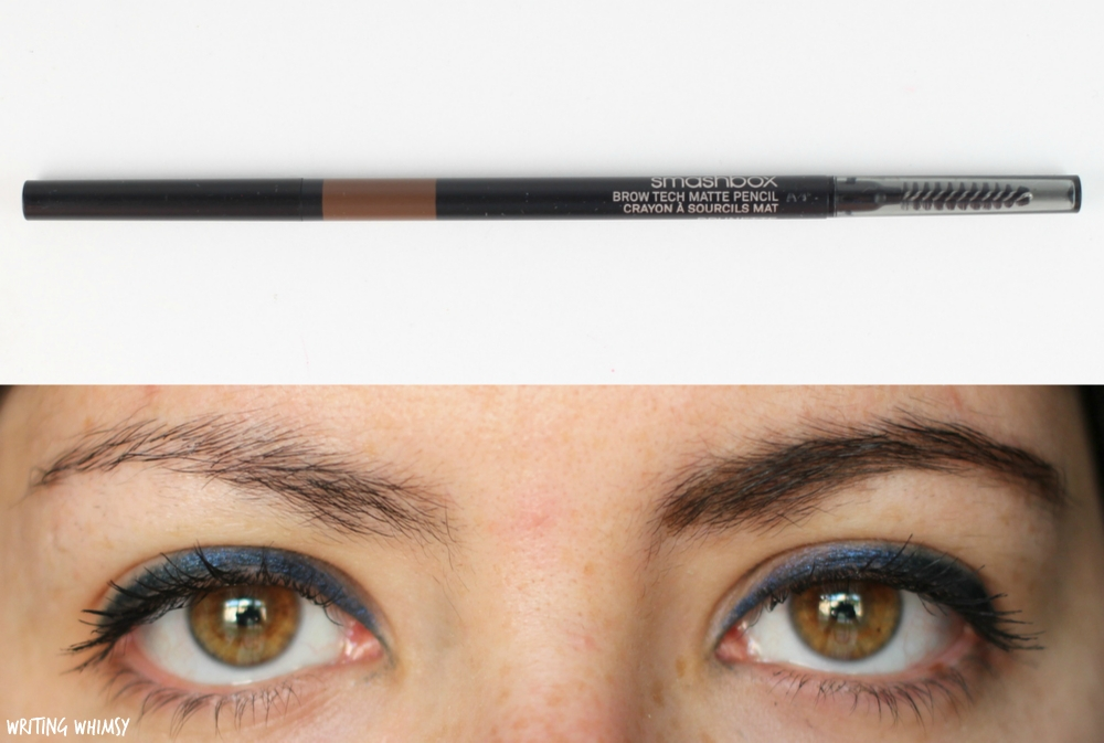 Smashbox Brow Tech Matte Pencil in Brunette Swatches 2