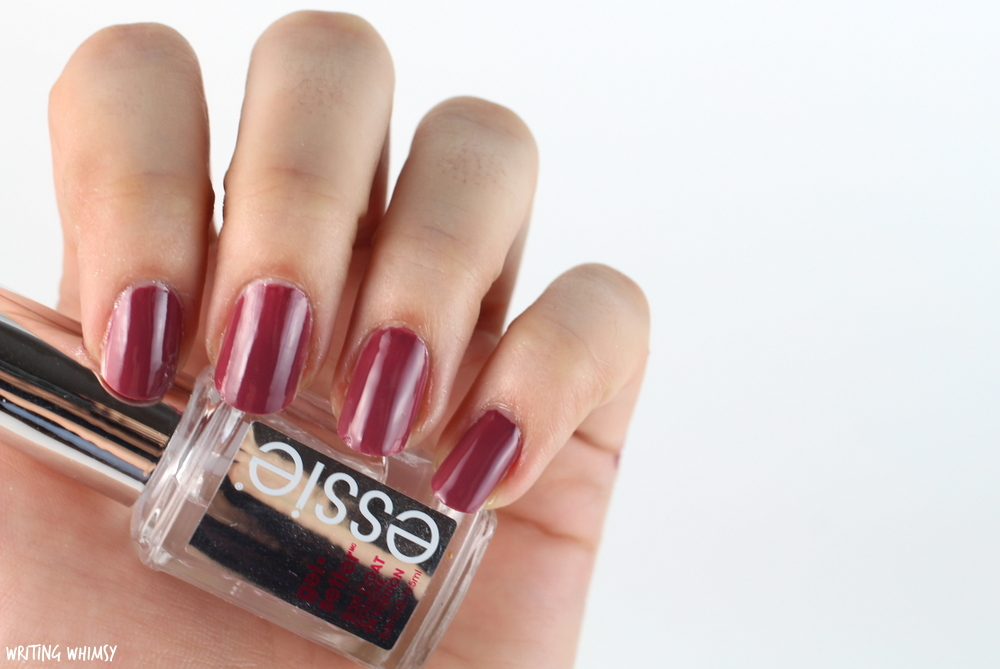 essie Gel Setter Top Coat Review – WRITING WHIMSY