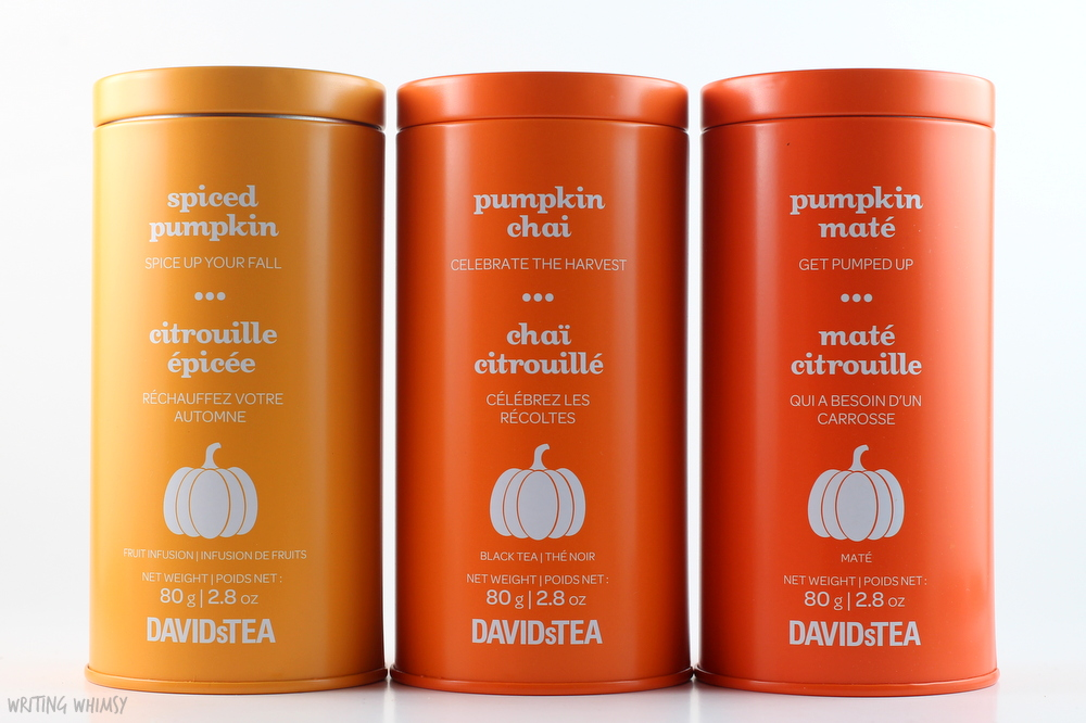 DAVIDsTEA The Pumpkin Collection 3