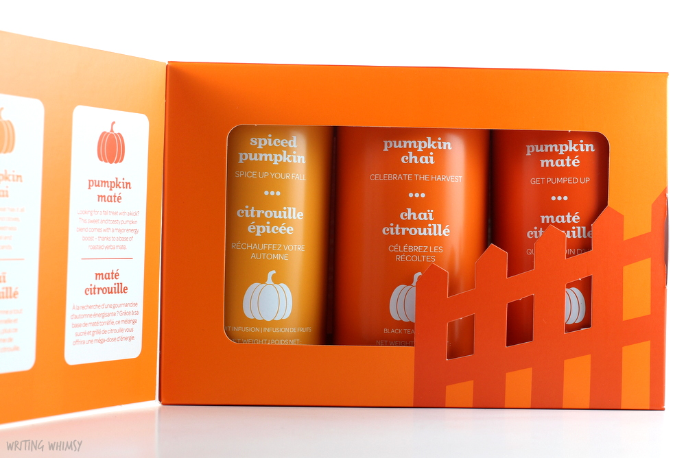 DAVIDsTEA The Pumpkin Collection