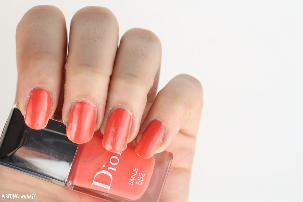 Dior Vernis in Smile 552 Swatches