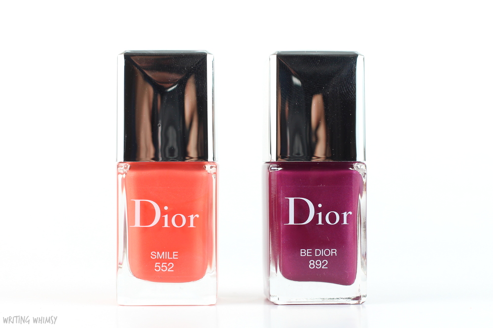 Dior Vernis in Smile & Be Dior Swatches