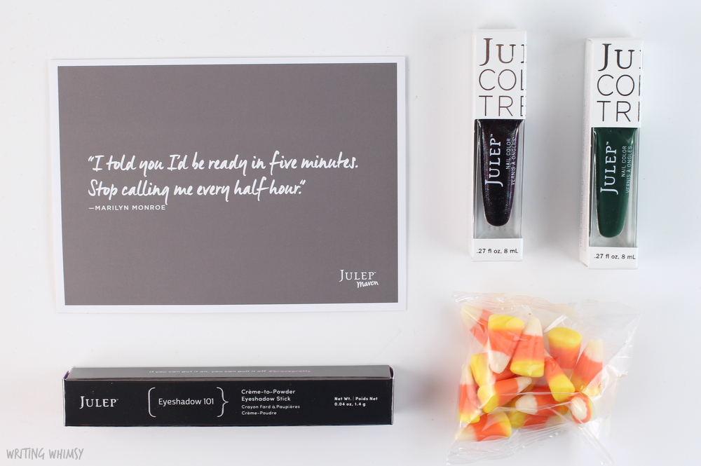 Julep Maven October 2015