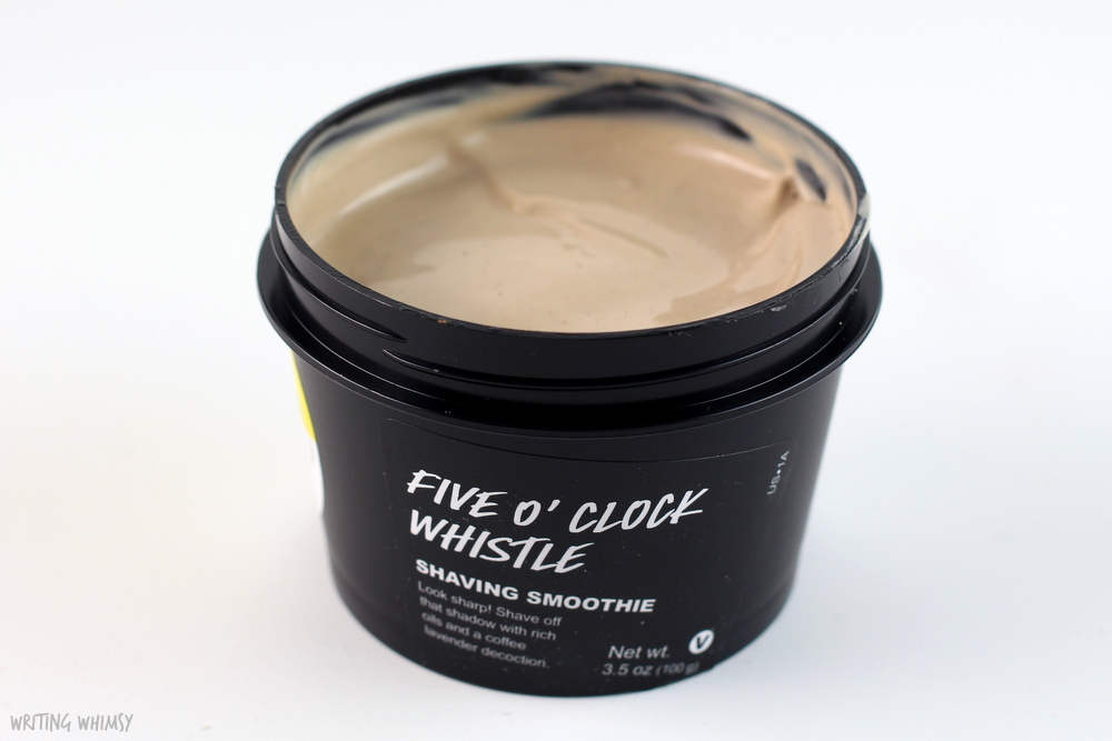 Lush Five O'Clock Whistle Shaving Smoothie 2