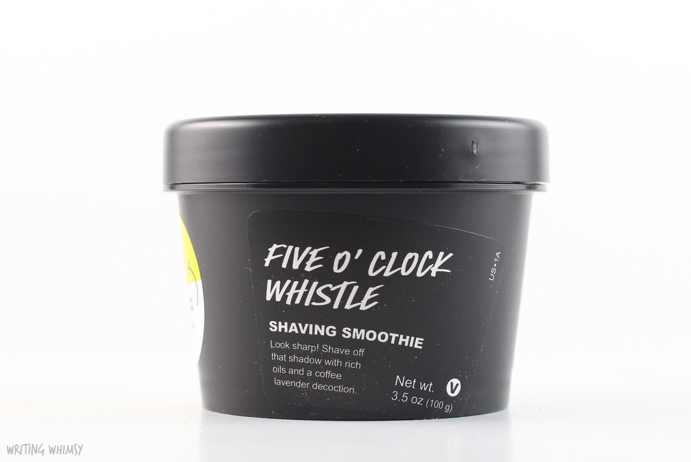 Lush Five O'Clock Whistle Shaving Smoothie 4