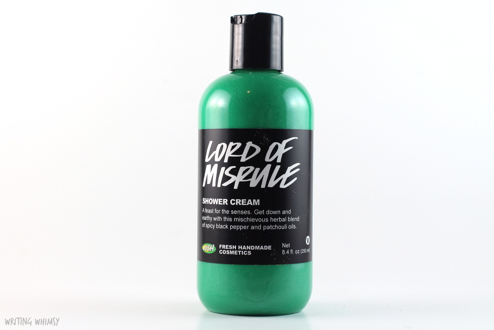 Lush Lord of Misrule Shower Cream Review