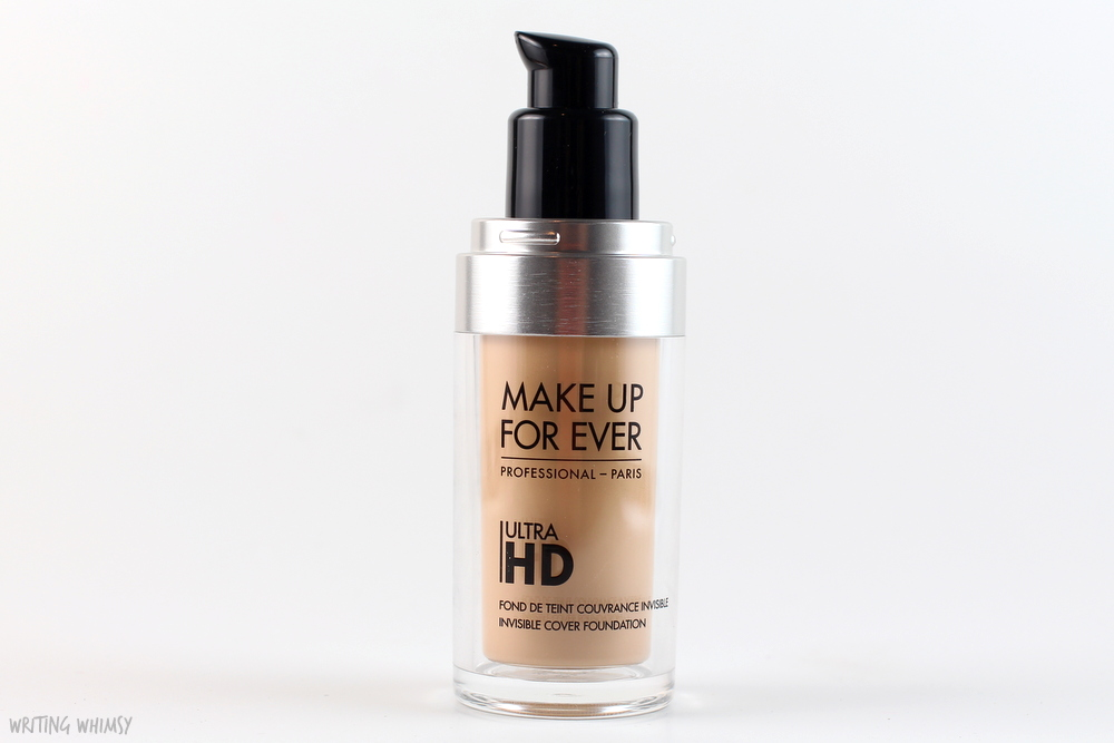 Make Up For Ever UltraHD Invisible Cover Foundation in Y225 Swatches and Review 2