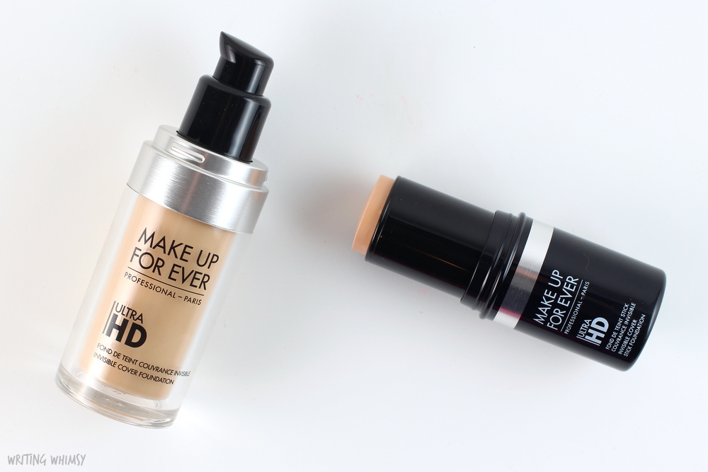 Make Up For Ever UltraHD Invisible Cover Foundation in Y225 Swatches and Review