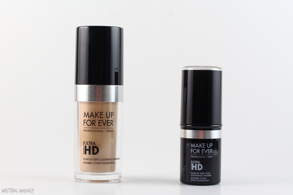 Make Up For Ever UltraHD Invisible Cover Stick Foundation in Y225 Swatches and Review 2
