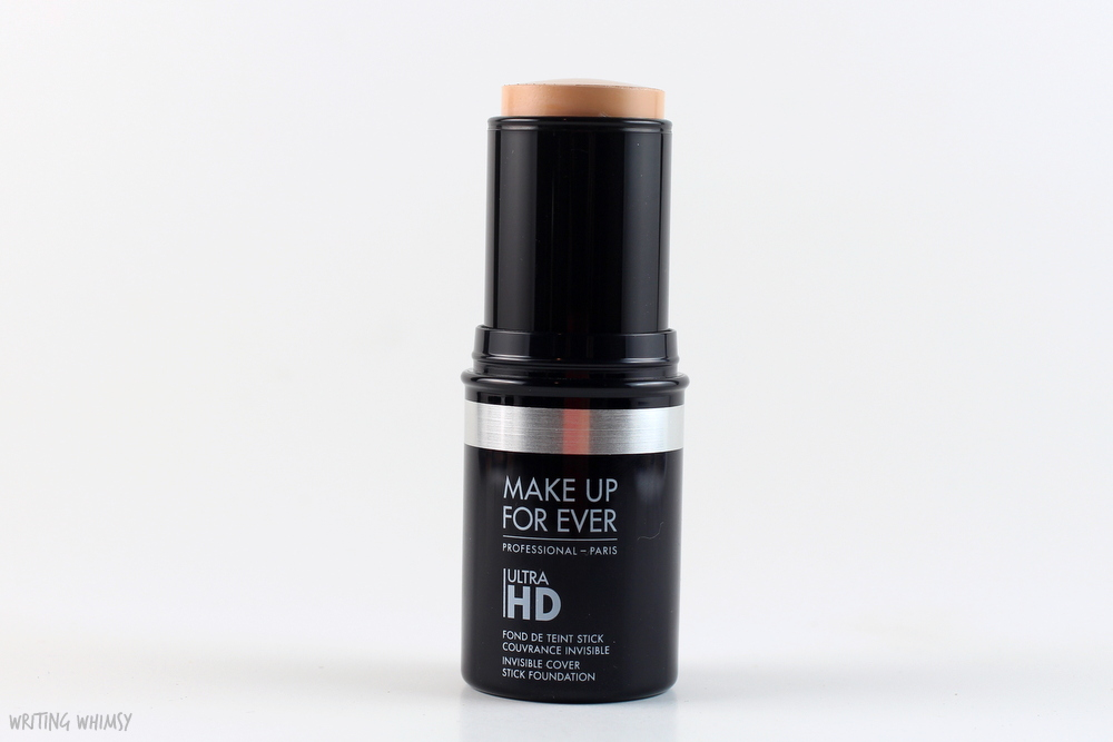 Make Up For Ever UltraHD Invisible Cover Stick Foundation in Y225 Swatches and Review
