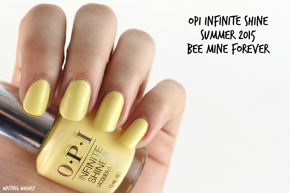 OPI Infinite Shine Bee Mine Forever Swatch