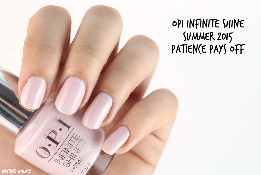 OPI Infinite Shine Patience Pays Off Swatch