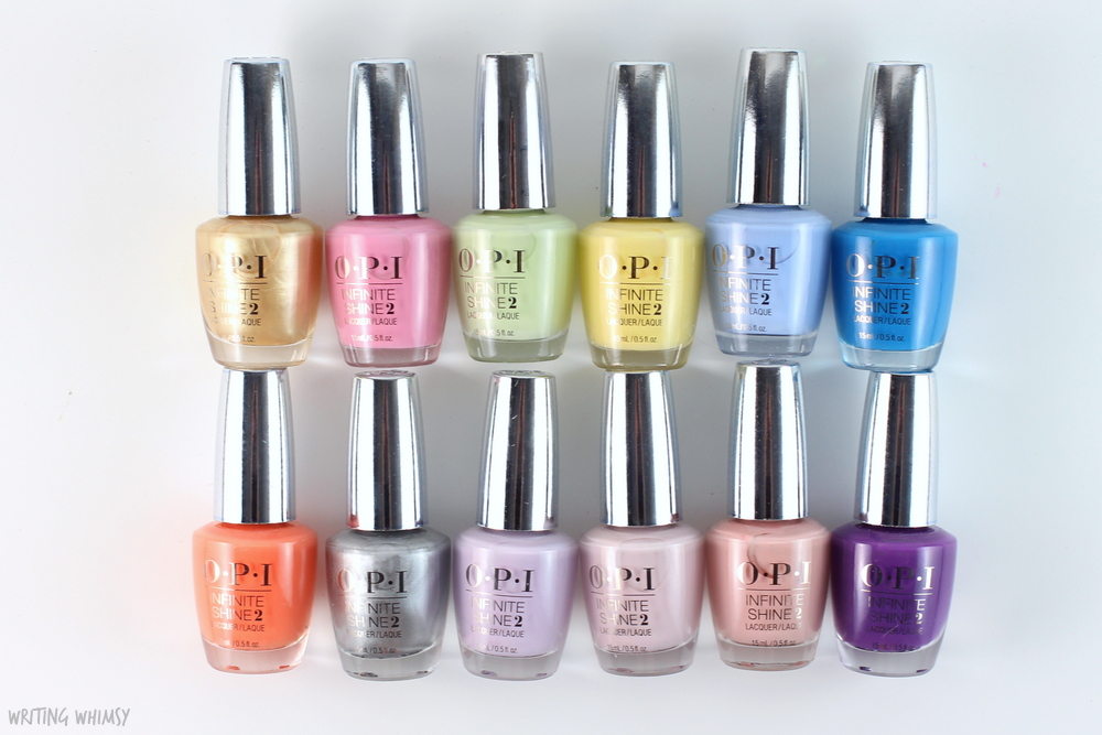 OPI Infinite Shine Summer 2015 Collection Swatches + Review