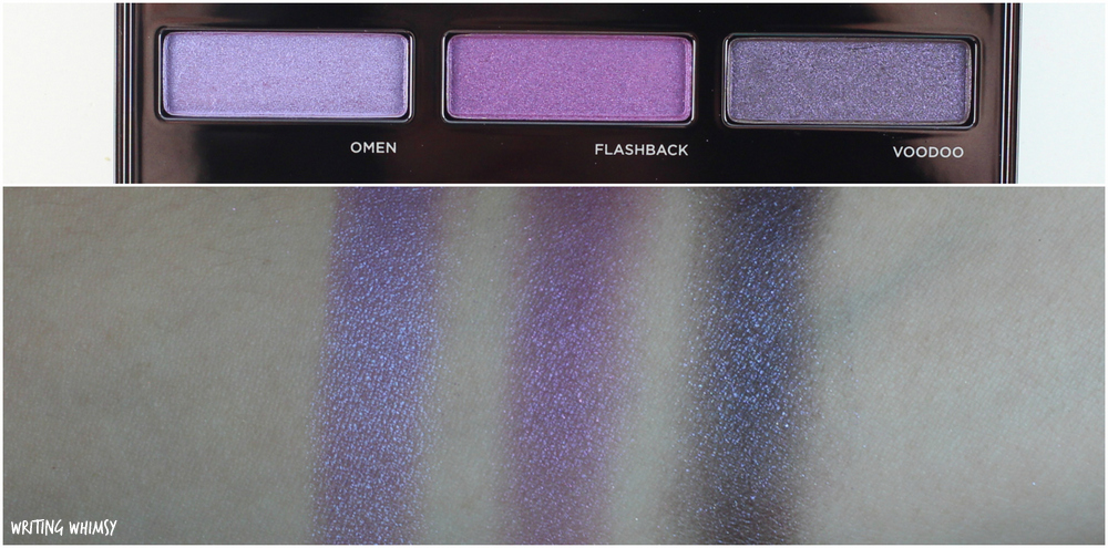 Urban Decay Spectrum Palette Swatches 3