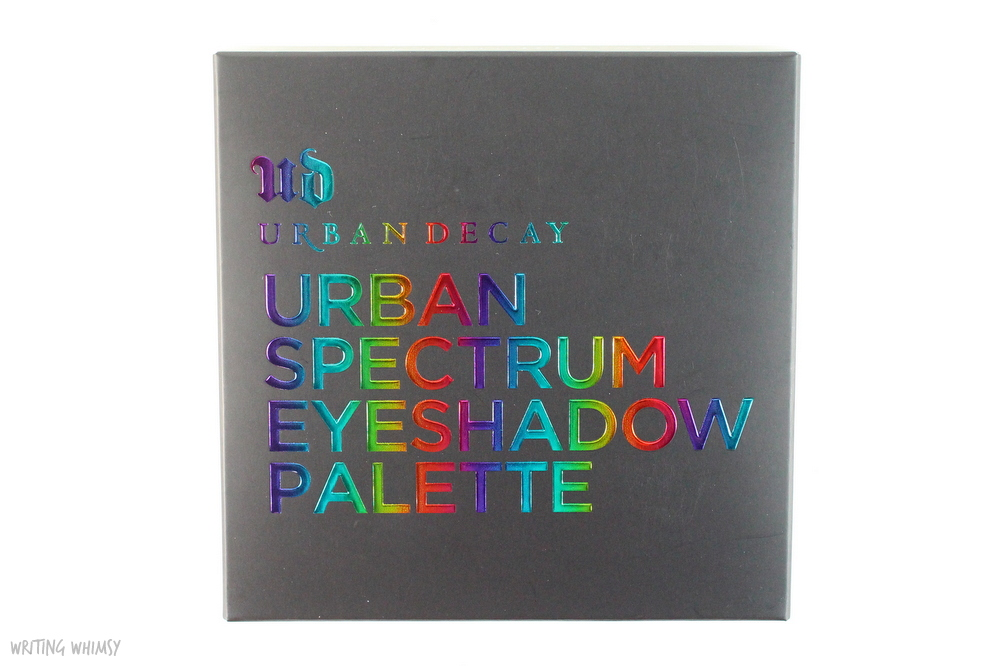 Urban Decay Spectrum Palette Swatches 8