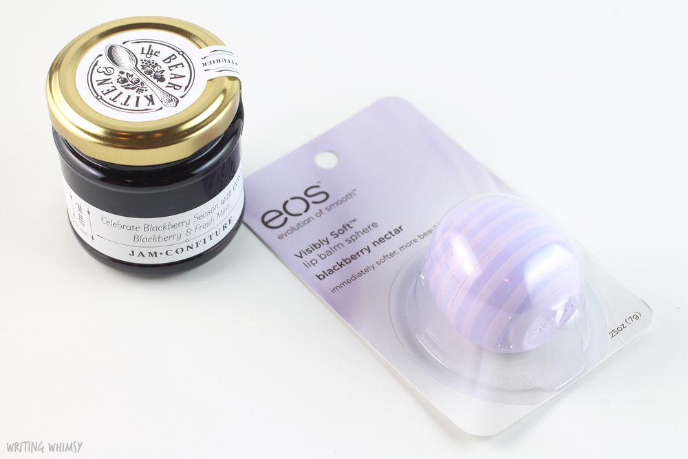 eos Visibly Soft Lip Balm in Blackberry Nectar 4