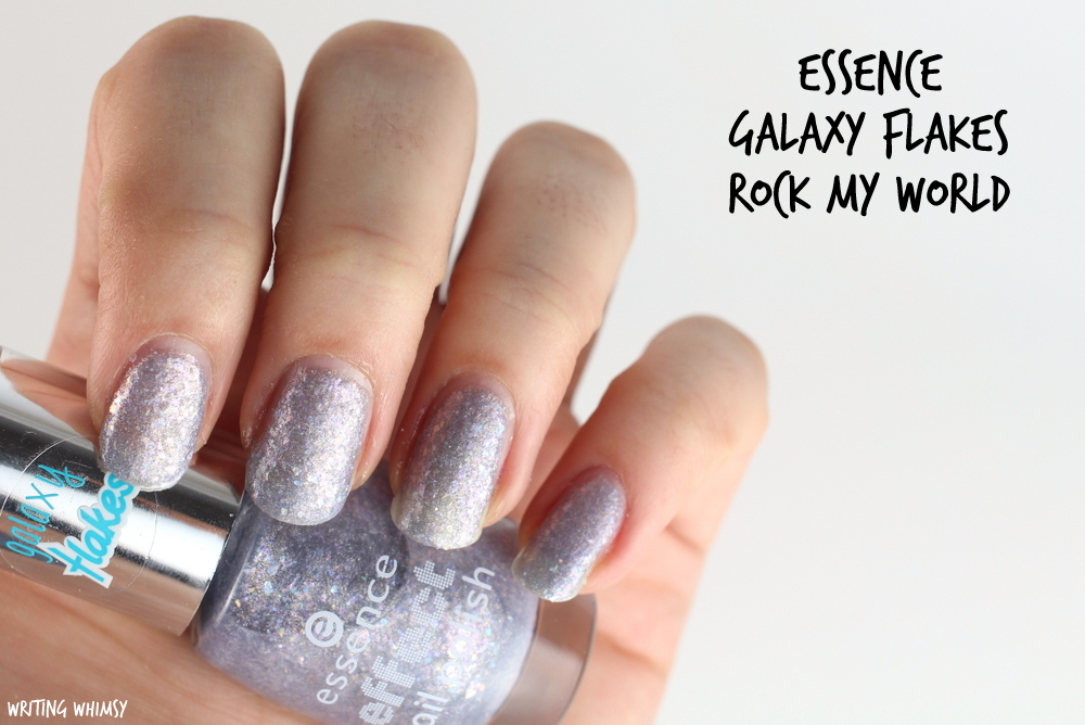 essence galaxy flakes rock my world 23 swatches
