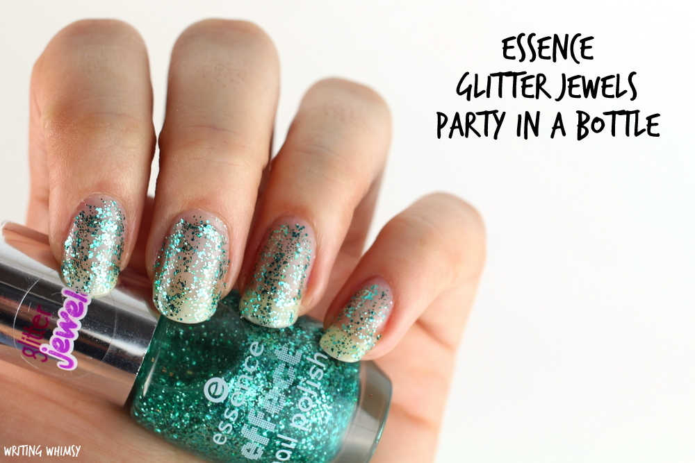 essence glitter jewels party in a bottle 06 swatches