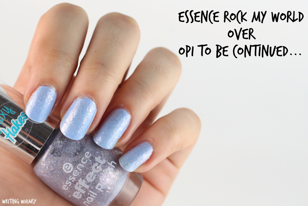 essence rock my world opi to be continued