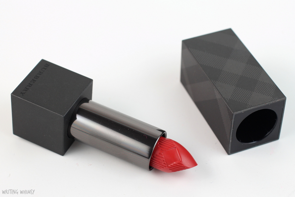 Burberry Lip Velvet Long Lasting Matte Lipstick in Honeysuckle (No. 409) 4