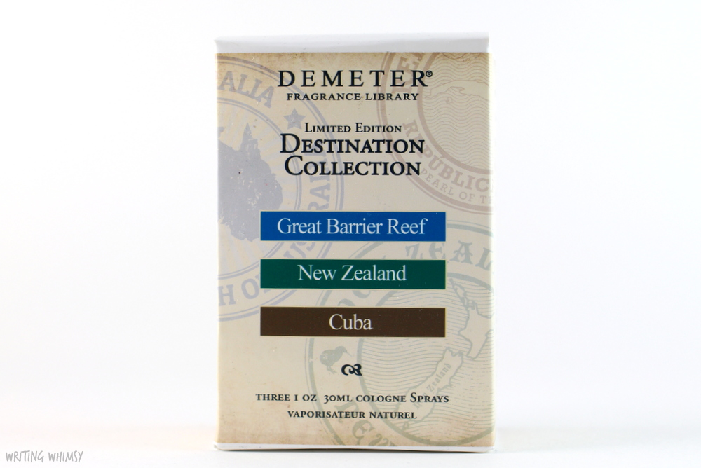 Demeter Fragrance Destination Set 4
