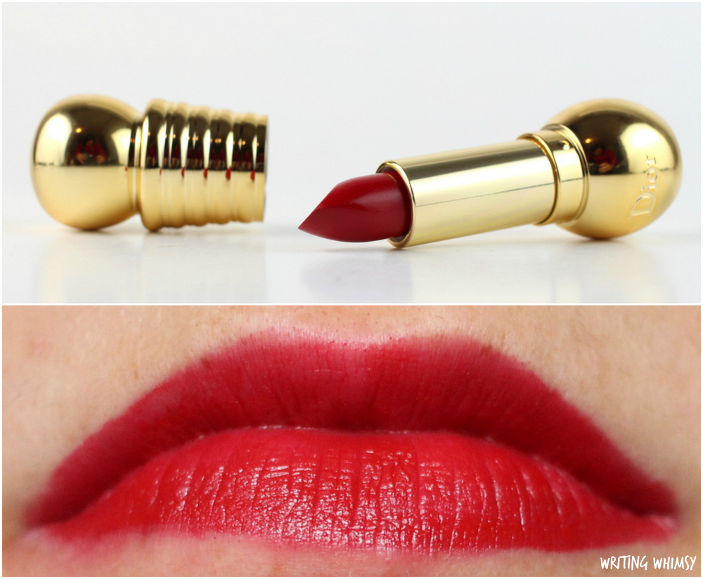 Dior Holiday 2015 Diorific Mat Velvet Colour Lipstick in Fabuleuse 750